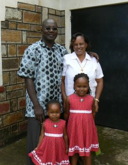 Peter Onyango and Family TOZ International Apostolic Leader